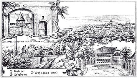 Gutshof u. Wohnhaus der Familie Theuerjahr